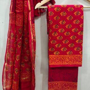 Cotton Suits with Kota Doriya
